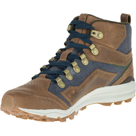 Merrell All Out Crusher Mid Sko Herrer brun/blå